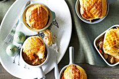 Lamb And Rosemary Pot Pies Recipe - Taste.com.au