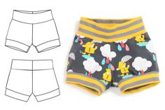 cuff shorts : 023 Brindille and Twig Sewing Baby Clothes, Baby Sewing, Toddler Boy Fashion, Baby & Toddler Clothing, Sewing Patterns For Kids, Clothing Patterns, Baby Boy Outfits, Kids Outfits, Kids Clothing Rack
