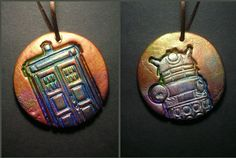 Doctor Who Ornaments by LeftHandAsylum on Etsy, $5.00