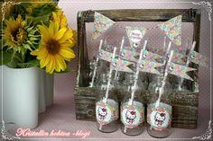 Hello Kitty synttärit / Hello Kitty birthday Lasten synttärit koristeluideoita