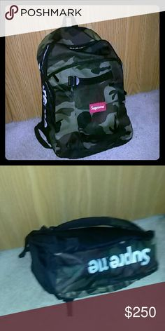 SUPREME SS14 CAMO BACKPACK Supreme backpack from 2014 ss Supreme Bags Backpacks