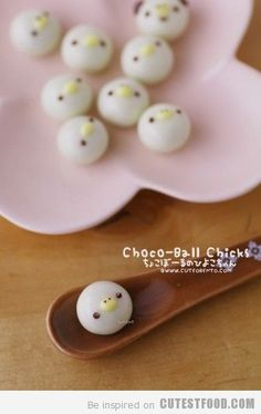 ChocoBall Chicks!!! How adorable!!