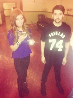 Kirstie and Mitch