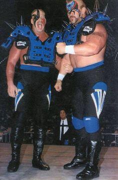 Legion Of Doom / The Road Warriors Wwf Superstars, Wrestling Superstars, Famous Wrestlers, Wwe Wrestlers, Wrestling Stars, Wrestling Wwe, Bruiser Brody, The Road Warriors, Monsters