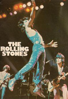 Mick Taylor, Mick Jagger and Keith Richards
