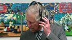 Prince Charles DJing < think you've missed your vocation, your Royal Highness!! Fancy a set in The Box?!