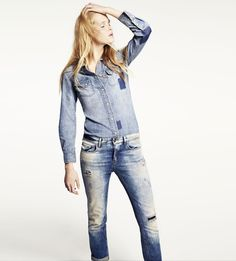 Friday! You made it! Now, on to all things weekend casual. French Reiko jeans at http://circodellamoda.com/reiko/