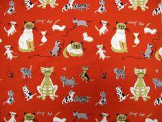 Bobbin's Nest Studio: Robert Kaufman fabric that is too cute to pass up! Cat Fabric, Robert Kaufman, Flag, Snoopy, Pretty, Nest, Cute, Fabrics, Studio