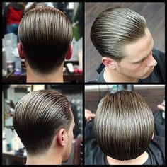 Men's Hair, Haircuts, Fade Haircuts, short, medium, long, buzzed, side part, long top, short sides, hair style, hairstyle, haircut, hair color, slick back, men's hair trends, disconnected, undercut, pompadour, quaff, shaved, hard part, high and tight, Mohawk, trends, nape shaved, hair art, comb over, faux hawk, high fade, retro, vintage, skull fade, spiky, slick, crew cut, zero fade, pomp, ivy league, bald fade, razor, spike, barber, bowl cut, 1960, men, women-Repined by theGreaseShop.com