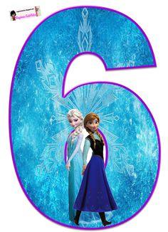 Frozen: Free Elsa and Ana Alphabet. Frozen: Bello Alfabeto Gratis de Elsa y Ana. Frozen Birthday Party, Frozen Tea Party, Frozen 1, Frozen Free, Sofia The First Birthday Party, Disney Frozen Party, Frozen Princess, Diy Crafts For 5 Year Olds, Frozen Cupcake Toppers