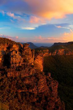 Boar's Head Rock, Blue Mountains National Park, New South Wales, Australia. By…