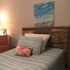 Pallet Headboard beds