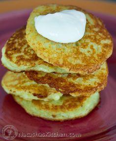 Potato pancakes, Pancakes and Potatoes on Pinterest
