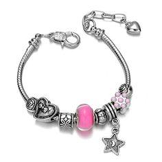 Onnea® Flower, Heart, Bead, Lantern, Dainty Charms Bracelets with Star Pendant Onnea http://www.amazon.com/dp/B011WKS620/ref=cm_sw_r_pi_dp_fRnbxb0WVP8KM
