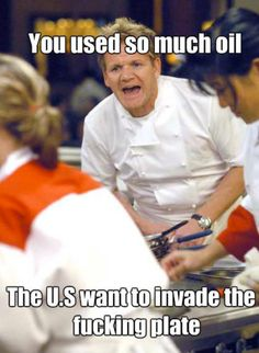 Gordon Ramsey humor - man I can't wait for Hell's Kitchen. he rolls out some of his own funny lines Gordon Ramsay Funny, Gorden Ramsey, Tori Tori, Haha, Usa Tumblr, Just For Laughs, Laugh Out Loud, The Funny, My Idol