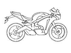 Resultado de imagen para pasteles dibujo de motos