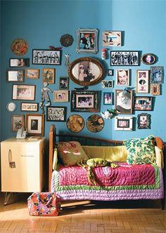 Verde e azul: use esta combinação tranquila em salas e quartos - Casa