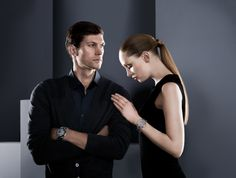 His and Hers Porsche Design Flat 6 Timepieces...