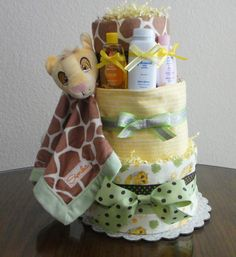 Disney Lion King Diaper Cake