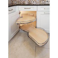 Kessebohmer KS-LM40-CHAM-MA-R *KIT* LeMans | Build.com Kitchen Layout, New Kitchen, Kitchen Ideas, Kitchen Themes, Kitchen Cabinet Inspiration, Long Kitchen, Kitchen Updates, Stylish Kitchen, Cabinet Ideas