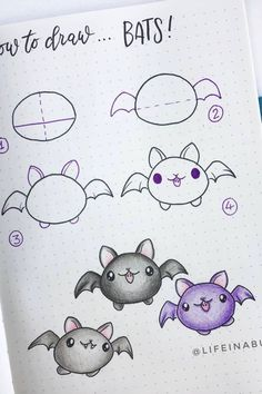 Best Bullet Journal Doodle Ideas For Halloween & Fall 2020 - Crazy Laura - - Starting your fall theme and need some deocration ideas? Check out these Fall and Halloween step by step bullet journal doodle tutorials for inspiration! Easy Doodles Drawings, Easy Doodle Art, Cute Easy Drawings, Kawaii Drawings, Simple Doodles, Bullet Journal Writing, Bullet Journal Themes, Bullet Journal Inspiration, Bullet Journals