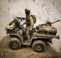 Motorcycle Camping, Camping Gear, Military Action Figures, Military Modelling, Military Pictures, Military Diorama, Military Police, Model Ships, Armored Vehicles