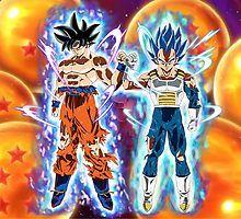 Goku and Vegeta Dragon Ball Gt, Dragon Z, Anime Goku, Z Wallpaper, Good Anime Series, Dbz Characters, Anime Merchandise, Anime Artwork, Naruto