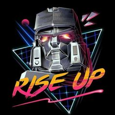 Transform and Rise Up! #neonchromestyle #neon #80sclassic #vincenttrinidadart #VincentTrinidad #vp021 #tshirt #apparel #clothing #freelancer #art #illustration #artwork #dbh #popculture #teefury#teepublic #shirtpunch #redbubble #neatoshop #displate #threadless #qwertee #riptapparel #designbyhumanstshirt
