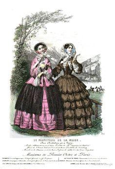 Le Moniteur de la mode, 1851
