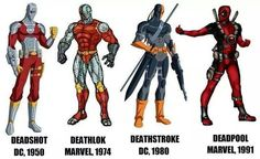 Image result for deadpool vs deathstroke vs deadshot
