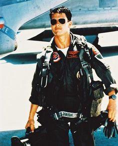 """Tom Cruise.  """"Top Gun"""""""
