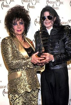 Elizabeth Taylor&Michael Jackson