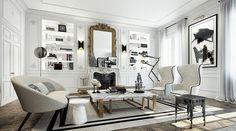 corniche blanche murs couleur pâle