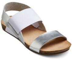 6bbe749eab9e Mossimo Supply Co. Women s Tameka Elastic Quarter Strap Sandals Cute Sandals