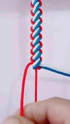 Diy Crafts Jewelry, Fun Diy Crafts, Bracelet Crafts, Diy Bracelets With String, Diy Bracelets Easy, Diy Friendship Bracelets Tutorial, Diy Bracelets Patterns, Diy Braids, Macrame Patterns