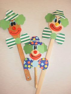 Our ideas and creations !: Carnival - My Hobbies Activities For Kids, Crafts For Kids, Arts And Crafts, Carnival Crafts, Circus Theme, Hobbies, Card Making, Halloween, Children