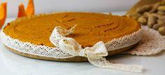 Ciasto jaglano-dyniowe na fistaszkowym spodzie