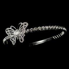 #butterfly #wedding #veil #bride #matrimonio #sposa #unconventional #circlet
