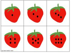 Print this free strawberry counting cards game and have some math fun with your youngsters. Strawberry Crafts, Strawberry Art, Strawberry Decorations, Foam Crafts, Preschool Activities, Work Activities, School Decorations, Birthday Decorations, Birthday Breakfast For Husband