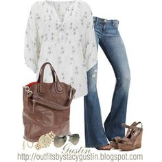 Casual early fall outfit