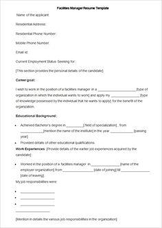 manufacturing resume templates 13 free printable word pdf