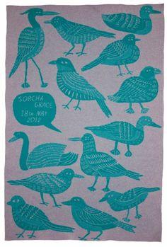 Customised with name. Studio Roam blanket - via @bambinogoodies. So beautiful.