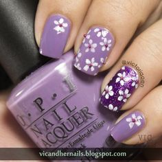 Vic and Her Nails: #31DC2014 Day 6: Violet Nails