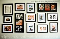 DIY Picture hanging and living room reveal