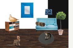 Blue Cat Blue Cats, Shelves, Table, Furniture, Home Decor, Shelving, Decoration Home, Room Decor, Shelving Units