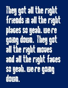 One Republic - All the Right Moves - song lyrics, song quotes, songs, music lyrics, music quotes,