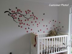 This is advertised for a baby's room, but I'd love it for mine!  By SurfaceInspired on Etsy