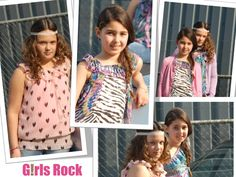 Girls Rock: Great label for tough girls.