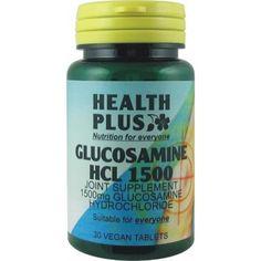 Health Plus - Glucosamine HCL 1500 30VTabs