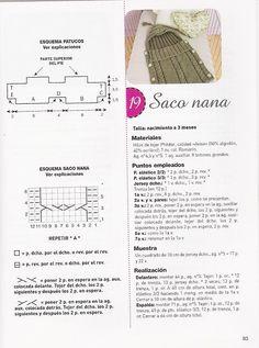 SOLO ROPITA DE BEBE EN PUNTO, GANCHILLO Y TELA (pág. 21) | Aprender manualidades es facilisimo.com